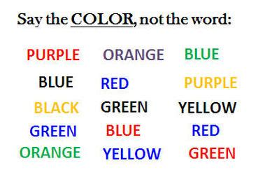 brain test italiano the stroop effect how mixed is your message frank lio