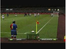 PES 2009 GamePlay PC Barcelona Real YouTube