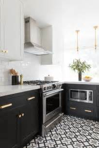 black  gray cle cement tiles transitional kitchen