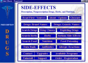 Drugs and Side Effects