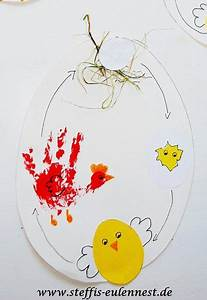 Basteln Sommer Grundschule : basteln mit kindern vom ei zum huhn ei huhn k ken basteln sommer kinder stroh nest ~ Frokenaadalensverden.com Haus und Dekorationen