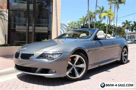 2008 Bmw 650i For Sale by 2008 Bmw 6 Series 650i For Sale In Canada