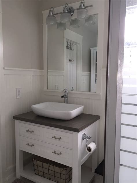 White Bathroom Wall Cabinet With Mirror by New Very Tiny Coastal Cottage Bathroom On A Small Diy
