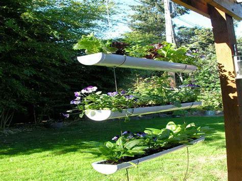 hanging garden ideas  styles design gutter garden