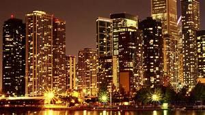 USA Skyscraper By Night