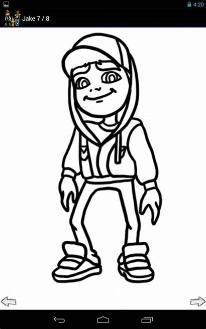Subway Surfers Draw Characters