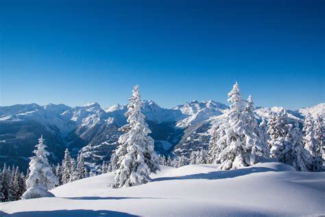 Wallpaper Winter Mountains, Snow, 4k, Nature, #5287