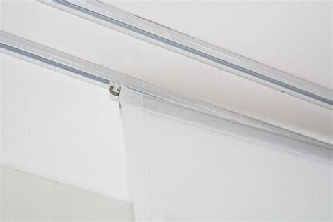 Vorhang Für Vorhangschiene by Fl 228 Chenvorhang Transparent Weiss 60cm 80cm 120cm Breit