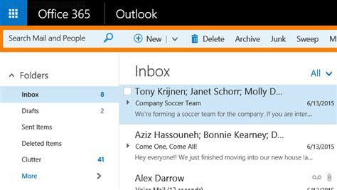 microsoft updates outlook on office 365 with new look and