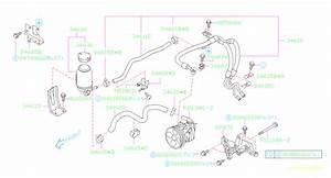 2005 Subaru Legacy Power Steering Pump Reservoir Bracket