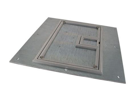 Fsr Floor Boxes Fl 600p by Fsr Fl 600p Slp C Ul Cover W 1 4 Quot Aluminum Carpet Flange