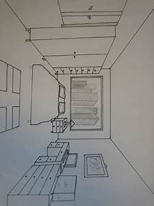 Stunning Chambre En Perspective Dessin Pictures Design Trends 2017 ...