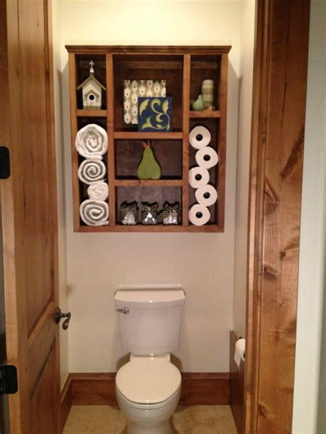 Bathroom Bathroom With White Wooden Flatong Cabinet Over