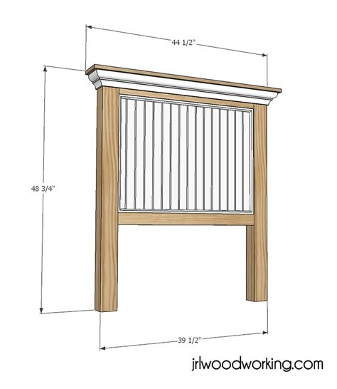 woodworking plans  twin bookcase headboard plans