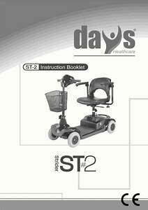 Days Medical Strider St6 Mobility Scooter