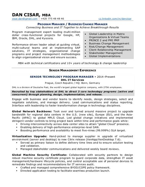 Change Manager Resume Format by Release Management Resume Sales Management Lewesmr