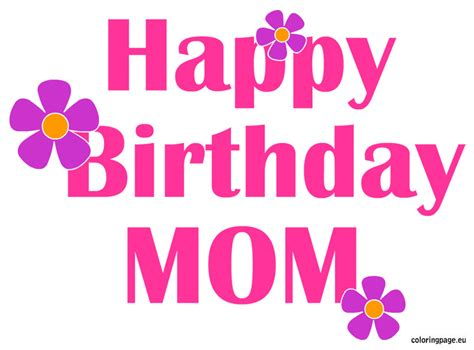 Birthday Wishes And Messages For Mom  Happy Birthday