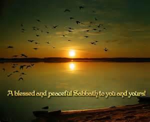 Blessed Sabbath
