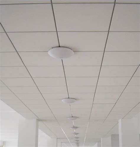 acoustical ceiling tile installation
