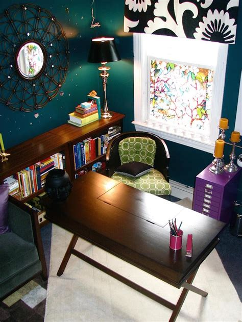 Designer Details Colorful Home by 15 Beautiful Eclectic Home Office Designs Feed Inspiration