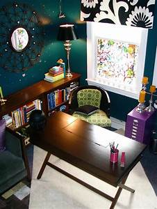 15 Beautiful Eclectic Home Office Designs