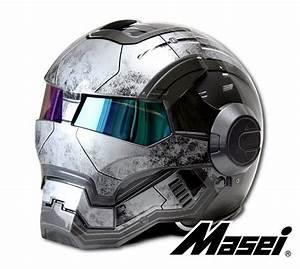Casque De Moto : 13 casques de moto iron man pour le fan ~ Medecine-chirurgie-esthetiques.com Avis de Voitures