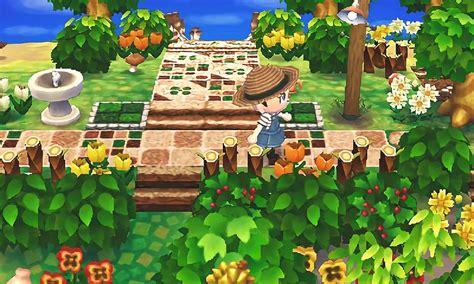 animal crossing diary home garden