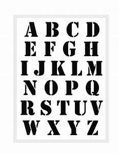 Buchstaben Schablone Metall : buchstabenschablone nr 5 druck buchstaben schablone abc alphabet schrift ebay ~ Frokenaadalensverden.com Haus und Dekorationen