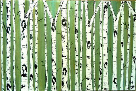 birch tree wallpaper wallpapersafari
