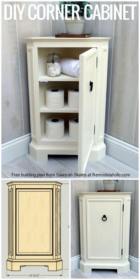 build  catalog inspired corner cabinet