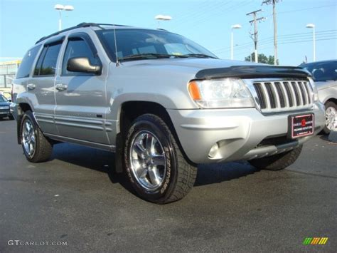 silver jeep grand cherokee 2004 2004 bright silver metallic jeep grand cherokee limited