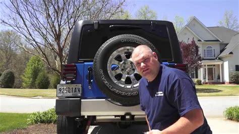 jeep wrangler   install rear camera part  jk jku