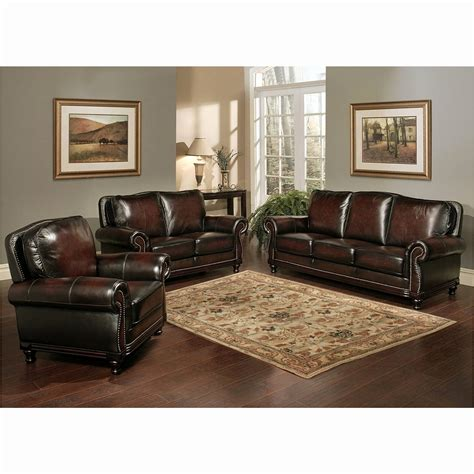 leather sofa set for living room top grain leather living room set smileydot us