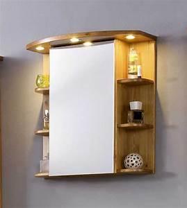 Bad Set Holz : bad spiegelschrank holz massiv kiefer in honigfarbe lackiert ~ Markanthonyermac.com Haus und Dekorationen