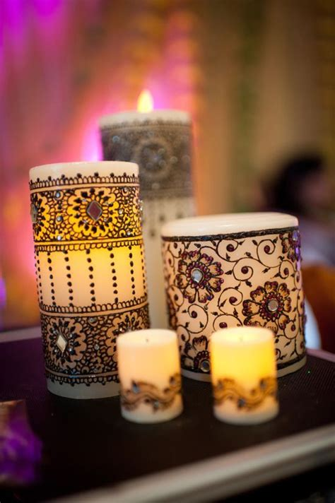 Candele Decorate by A Beginners Guide To Indian Ethnic Decor
