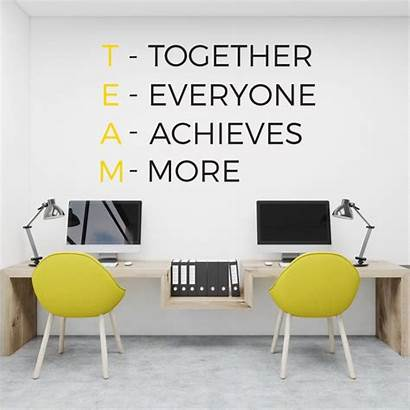 Office Corporate Professional Quotes Interior Motivational Decorations