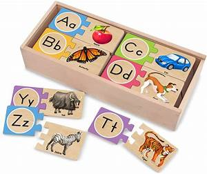 melissa doug self correcting letter puzzles baby toddler With letter puzzles for toddlers