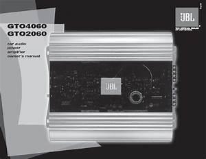Jbl Gto 2060  Serv Man10  User Guide    Operation Manual