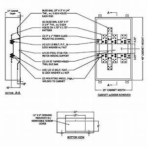 Pepco 400 To 800 Amp Nema 3r Ct Cabinet Phict83