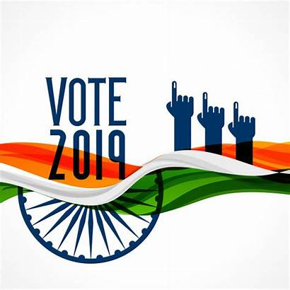 Vote India Election Indian Background Clipart Flag