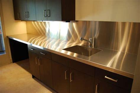 custom  stainless steel countertops  custom metal