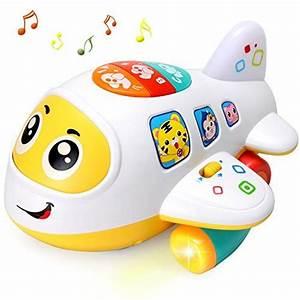 Spielzeug Für Babys : actrinic baby elektronisches flugzeug licht und musik best ~ Watch28wear.com Haus und Dekorationen