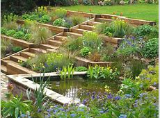 Terraced Garden, Radlett Julian Tatlock Garden Design