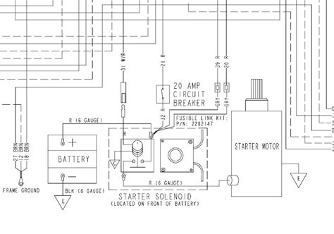 Polari 425 Magnum Wiring Diagram by I A 2005 330 Magnum Completely Dead No Lights No