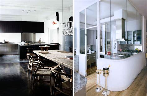 cuisine ouverte sur salle a manger best maison cuisine ouverte photos design