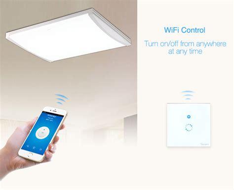 pesanan m sonoff panel lu touch wifi smart home white