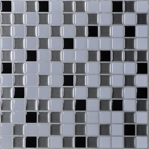 kitchen backsplash stick on tiles peel and stick wall tiles kitchen backsplash sticker set of 6