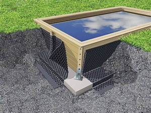 Piscine Hors Sol 4x2 : protection des parois pour piscine bois geotextile ubbink en rouleau ~ Melissatoandfro.com Idées de Décoration