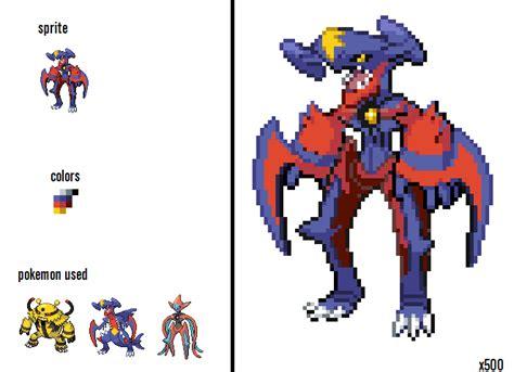 pokemon fusion arm blades  megavanilluxe  deviantart