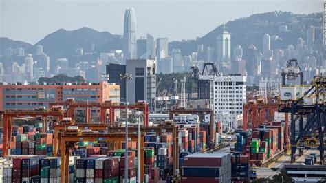 The United States is treating Hong Kong as mainland China ...